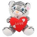 Tiger mit Herz ca. 30cm