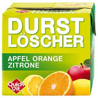 Durstlöscher Apfel/Orange/Zitrone 12x0,50l