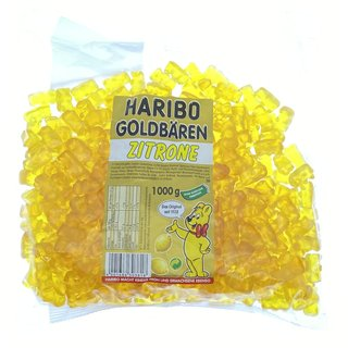 Haribo Goldbären Zitrone (gelb) 3kg