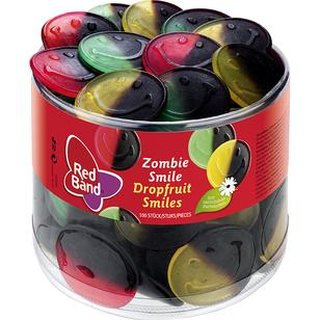 Red Band Zombie Smile 100 Stück