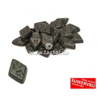 De Bron Zoute Ruitjes suikervrij 1kg