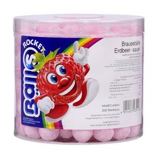Brausebälle Erdbeer sauer 200er