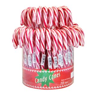 Candy Canes rot-weiß 72x14g
