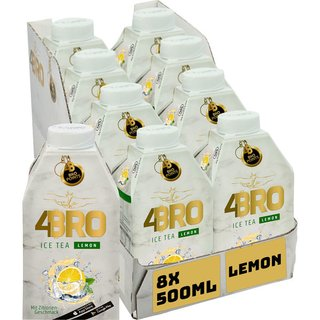 4BRO Lemon Eistee 8x0,50l