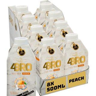 4BRO Peach Eistee 8x0,50l