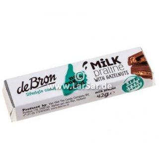 De Bron Milk Praline with Hazelnuts 12x42g