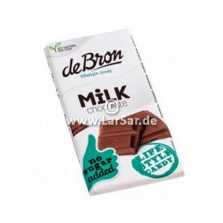 De Bron milk Stevia 12x85g